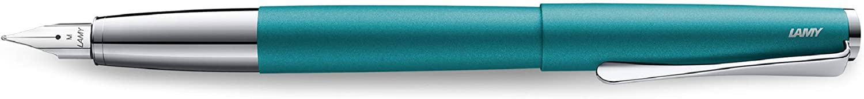 Fine Nib Aquamarine Lamy Studio Fountain Pen 066