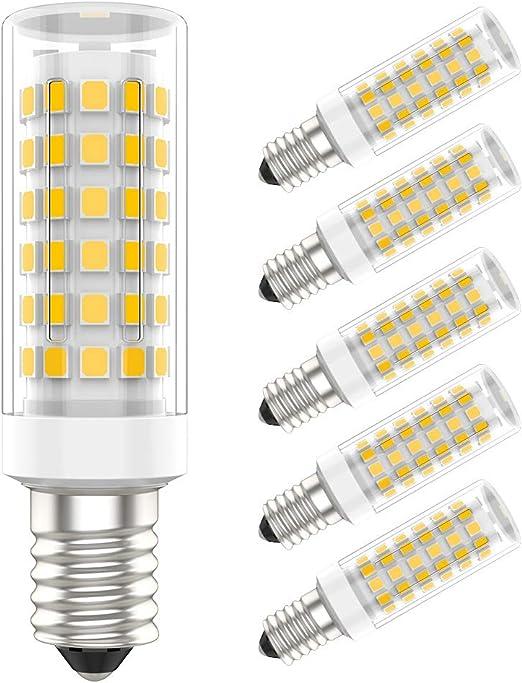 Bombillas LED E14 (Casquillo Fino) 9W,700 lúmenes, Color blanco ...