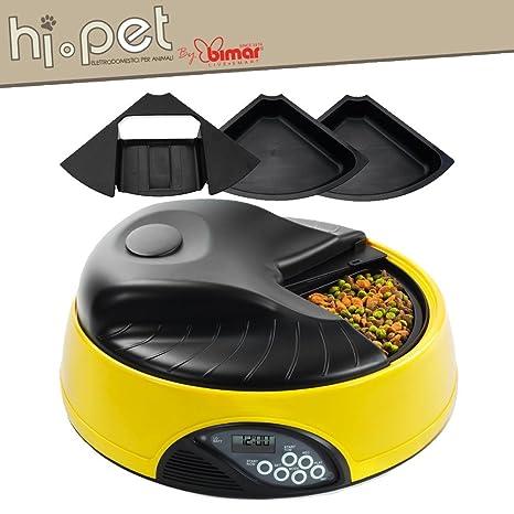 Bimar Hi-Pet Comedero Automatico Para Animales (Perros Y Gatos) - Dispensador Automatico