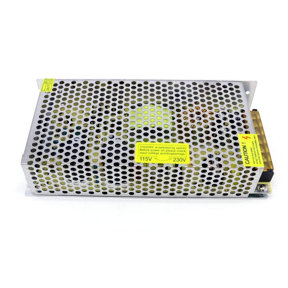 Utini 150W Switching Power Supply Ac 110V//220V to Dc 5V 12V 24V 48V Regulated Dc 150W Power Supply