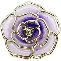Bolso plegable con forma de rosa Gancho