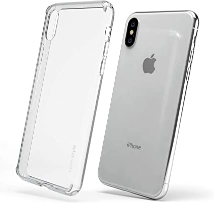custodia trasparente per iphone x
