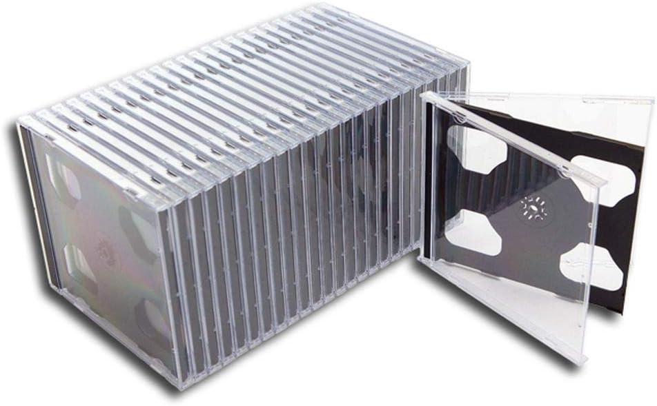 Cd Doppel Leerhülle Leerkassette Schmal Protected 25 Stück Musikinstrumente
