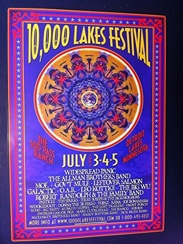 (Widespread Panic Allman Brothers Band Moe Rare Original Concert Tour Gig)