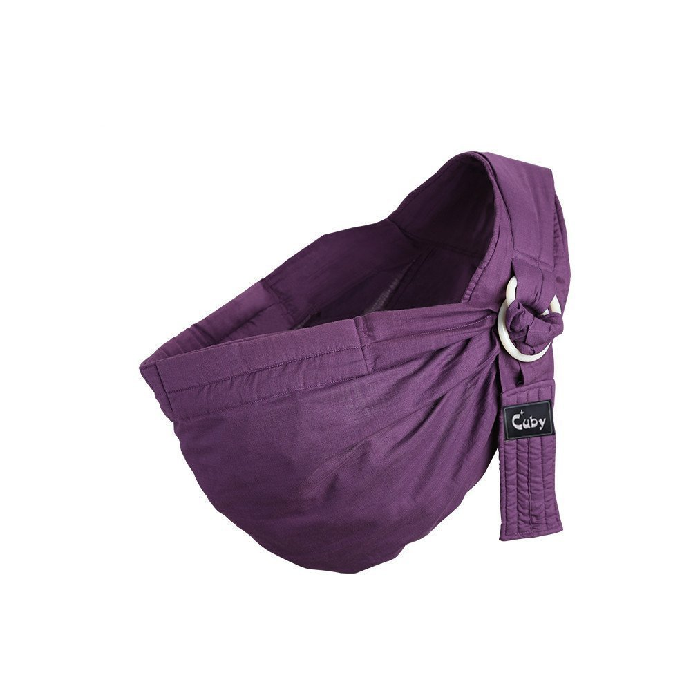 Kangaroobaby Baby Sling Wrap Carrier From Newborns To Todder Child Purple