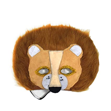 Xuxuou 20*25 Máscara de Tela Máscara de Halloween para Niños Máscara de Animal Pequeño
