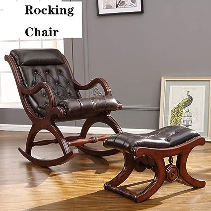 XUE Mecedora, Sillón reclinable Silla de salón sillón cómodo ...