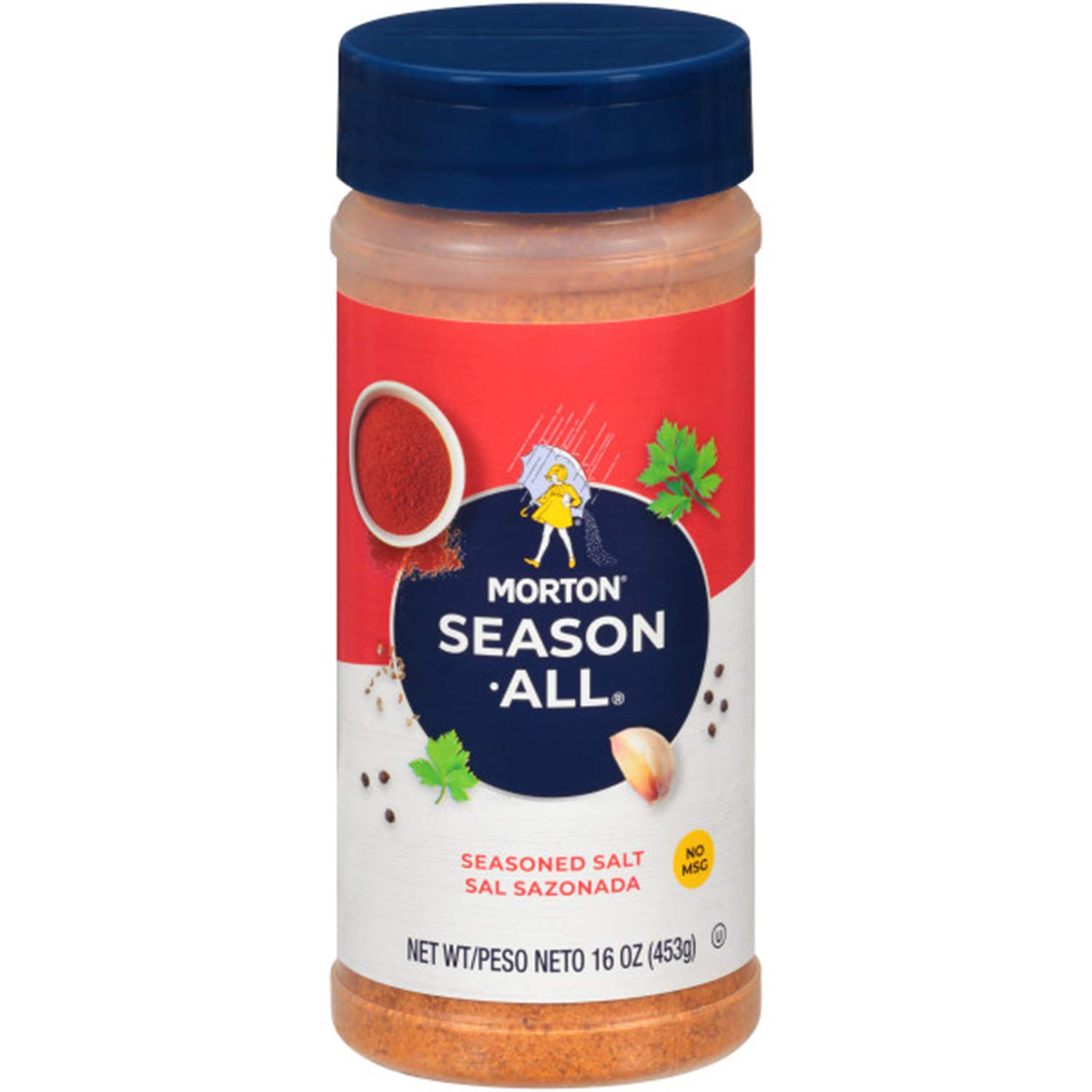 Morton Season-All Seasoned Salt, 16 Ounce
