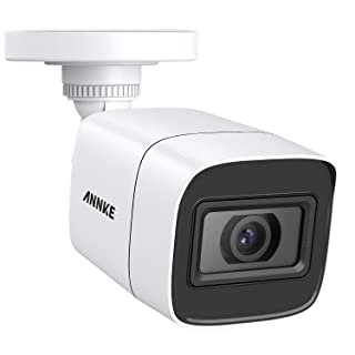 ANNKE 4K Add-on Wired Bullet Security Camera with 100ft EXIR Night Vision, IP67 Waterproof for Outdoor Indoor Video Surveillance