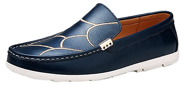 628 Mens Casual Loafers Slip-on Smart Driving Job Stylish Shoes
