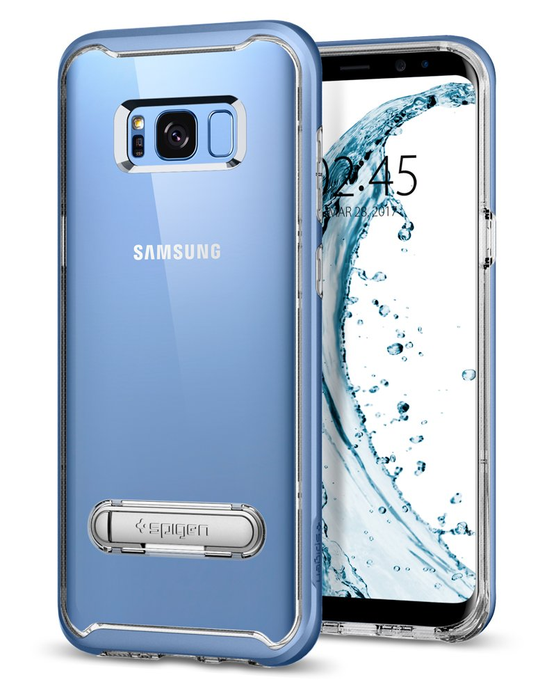 Funda Spigen Samsung S8 Plus [coral Blue] Crystal Hybrid