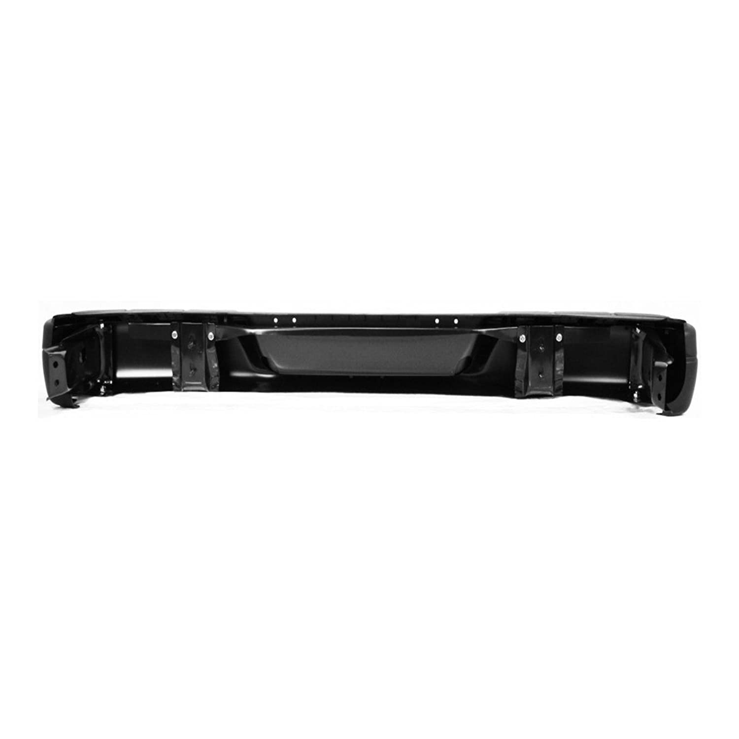 Steel Rear Bumper Assembly for 1996-2017 Chevy Express /& GMC Savana 96-17 Primered GM1103143 MBI AUTO