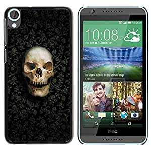 Impact Case Cover with Art Pattern Designs FOR HTC Desire 820 Design Skull Pattern Betty shop