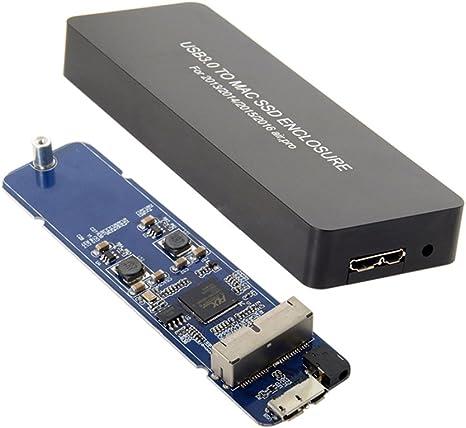 Libro Mac Air Pro 2013 2014 2015 2016 SSD Estuche portátil USB 3.0 ...