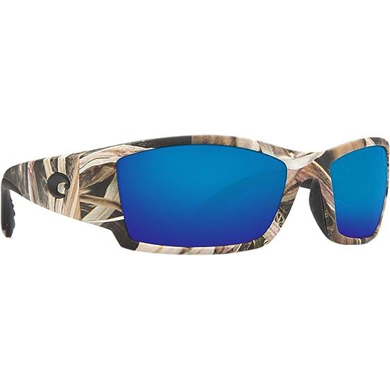 5f56b3dd1 Costa Del Mar Corbina Sunglasses, Mossy Oak Shadow Grass Blades Camo, Blue  Mirror 580G