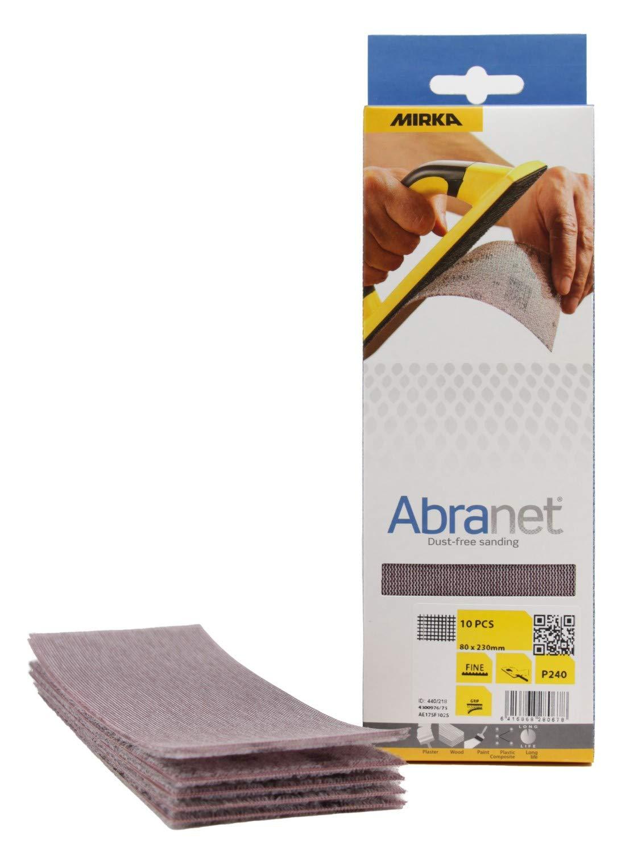 Mirka Abranet Disc P80 125 mm - UK stock 10 AE232F1080