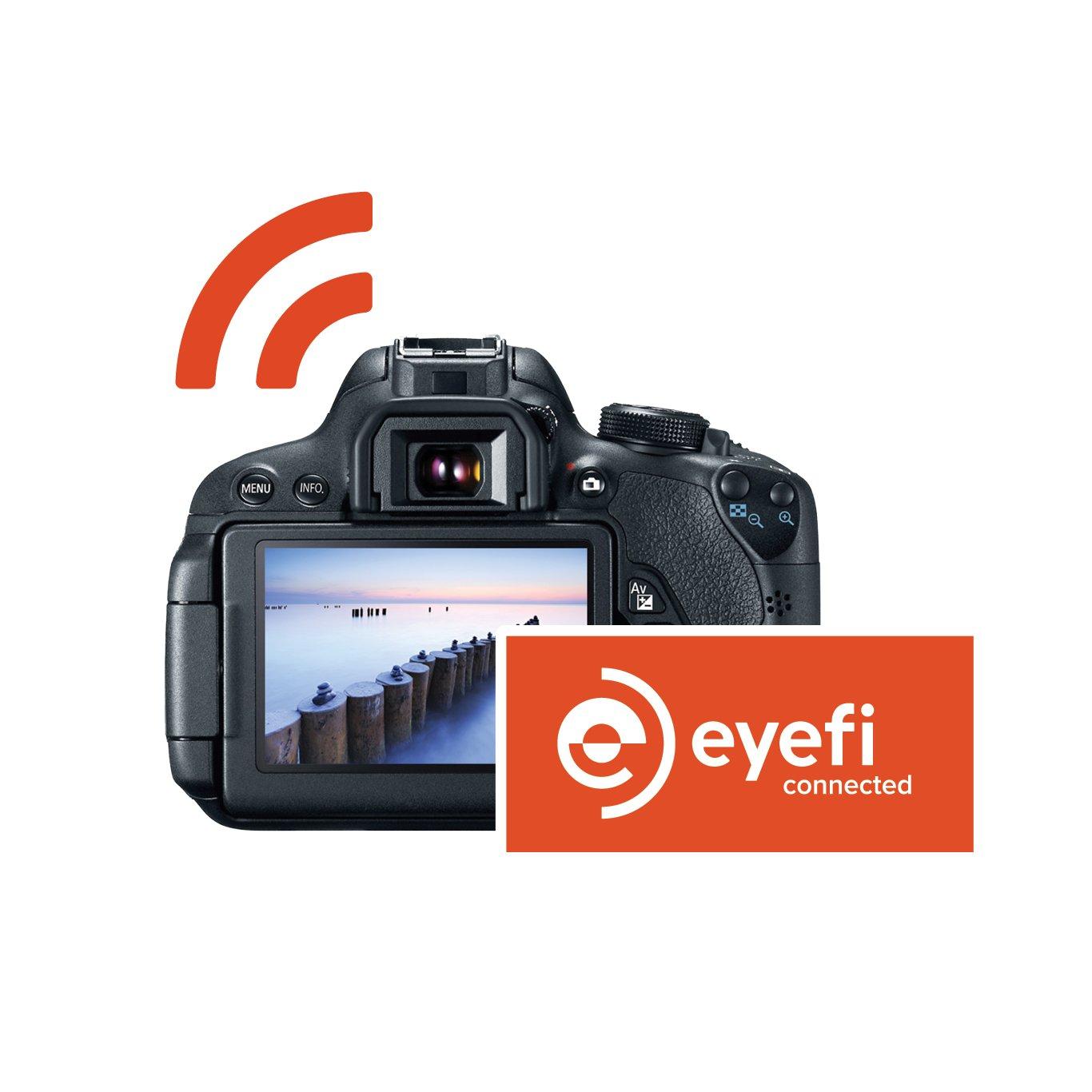 Amazon Eyefi Mobi 8gb Class 10 Wi Fi Sdhc Card With 90 Day
