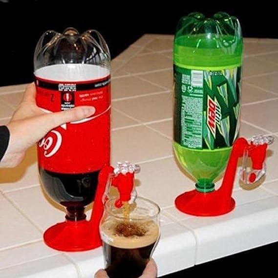 Compra yooyoo Soda dispensador Botella Coque Upside Down agua potable Dispense Gadget de máquina Home Bar Party en Amazon.es