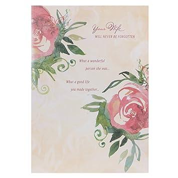 Hallmark sympathy card loss of wife medium amazon hallmark sympathy card loss of wife medium thecheapjerseys Gallery