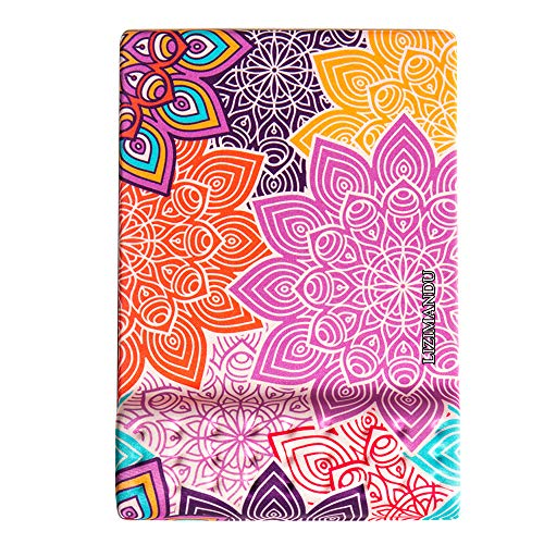 Cheliz Memory Foam Non Slip Mouse Pad Wrist Rest - Durable & Comfortable & Lightweight for Easy Typing & Pain Relief-Ergonomic Support(Colorful Flower)