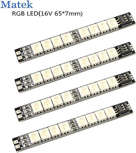 Matek RGB Arm Light LED Beleuchtung für Race Copter 16V 4 5s