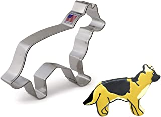 product image for Ann Clark Cookie Cutters German Shepherd Cookie Cutter, 5.25""