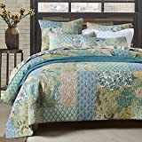Retro Comforter Set Floral Paisley Printed Pattern 100 Cotton Patchwork Bedspreads Quilt Sets Queen Size