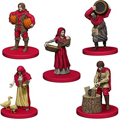 WizKids Agricola Game Expansion Red: Toys & Games