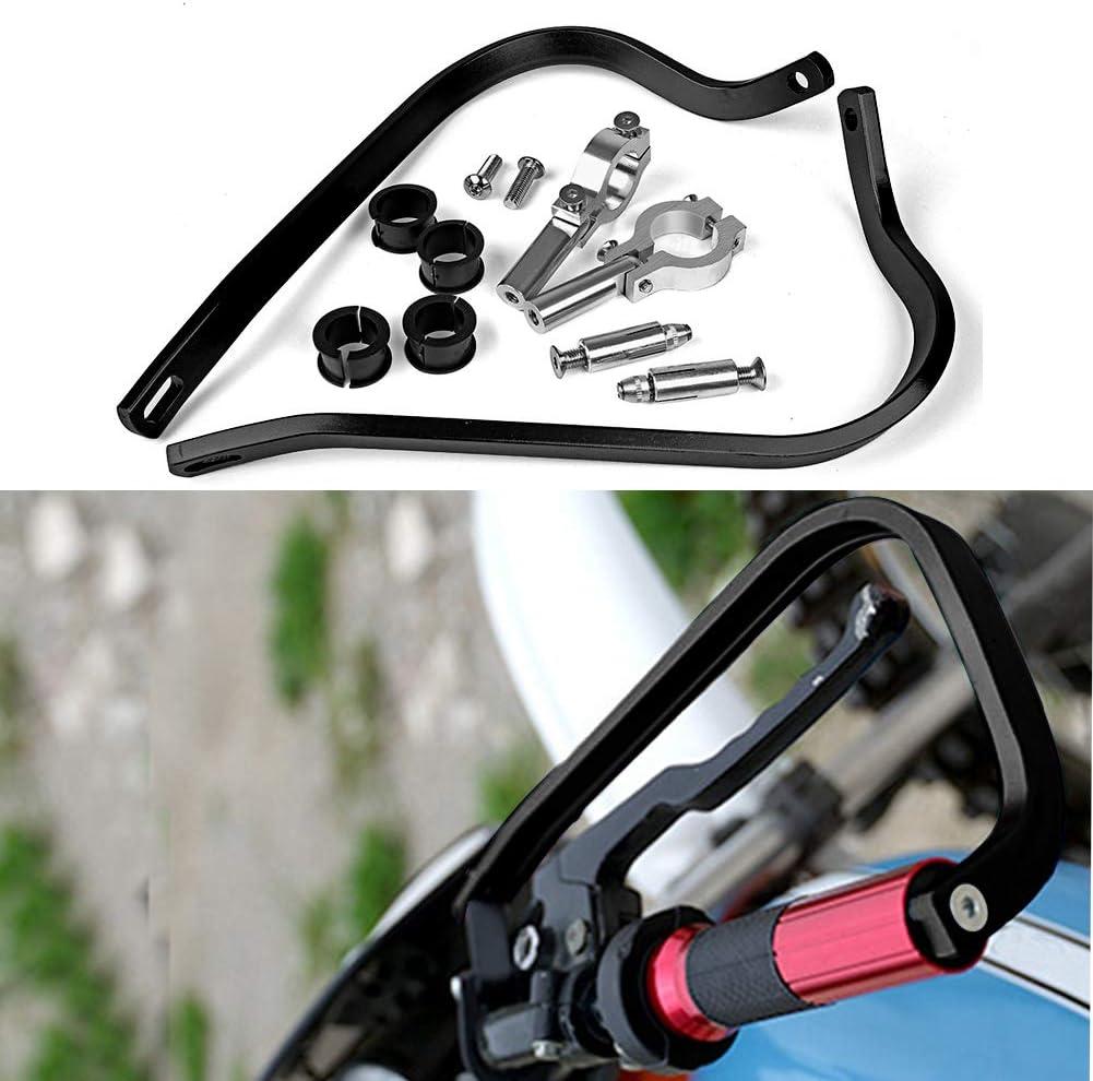 Triclicks 22mm 7 8 Universal Motorrad Handschützer Für Dirt Bike Mx Atv Schwarz Auto