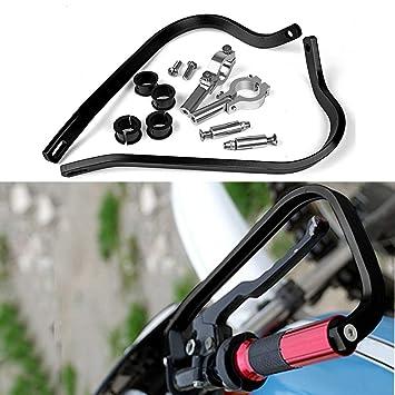 Universal Motocicleta mano orejeras para Dirt Bike MX ATV: Amazon.es: Coche y moto