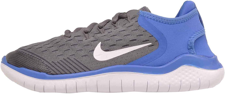 Nike Free RN 2018 (GS), Zapatillas de Running para Niños, Multicolor (Gunsmoke/White/Signal Blue/Thunder Grey 005), 36 EU: Amazon.es: Zapatos y complementos