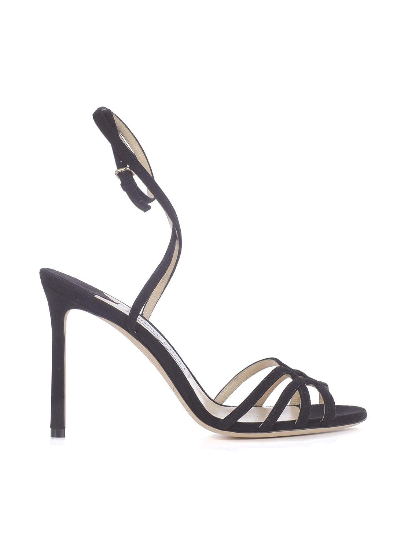 - Jimmy Choo Women's MIMI100SUEBLACK Black Suede Heels