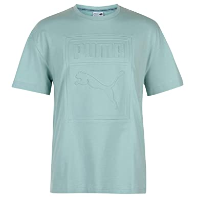 5602d882195 Puma Archive Embossed Print T-Shirt Mens Tee Shirt Top | Amazon.com