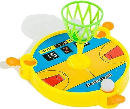 Wilk Baloncesto Baloncesto Junta de plástico 1pc Catapulta Juego de Escritorio Juego de Baloncesto Juego de Mesa Soporte de los ni?os para el Regalo Juguetes educativos: Amazon.es: Juguetes y juegos