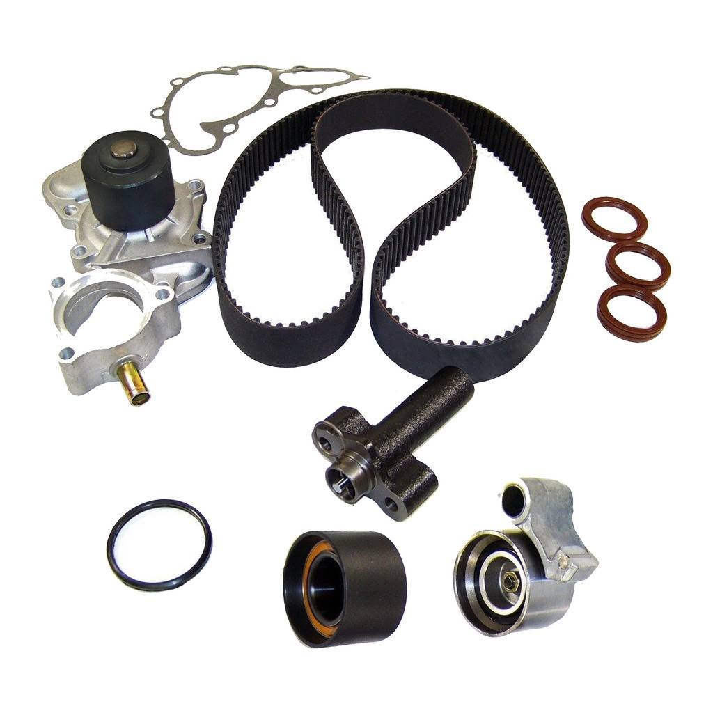 DNJ TBK965WP Timing Belt Kit with Water Pump for 1995-2004 / Toyota / 4Runner, T100, Tacoma, Tundra / 3.4L / DOHC / V6 / 24V / 3378cc / 5VZFE DNJ ENGINE COMPONENTS