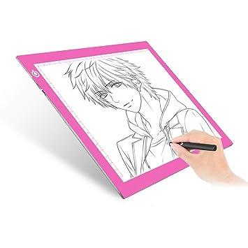 Amazon.com: ME456 - Caja de luz LED de tamaño A4 para dibujo ...