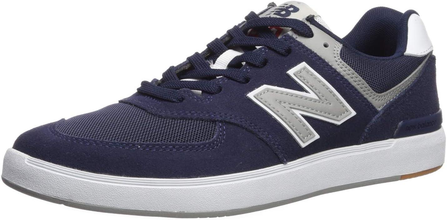 New Balance Mens 574 Skate Sneaker