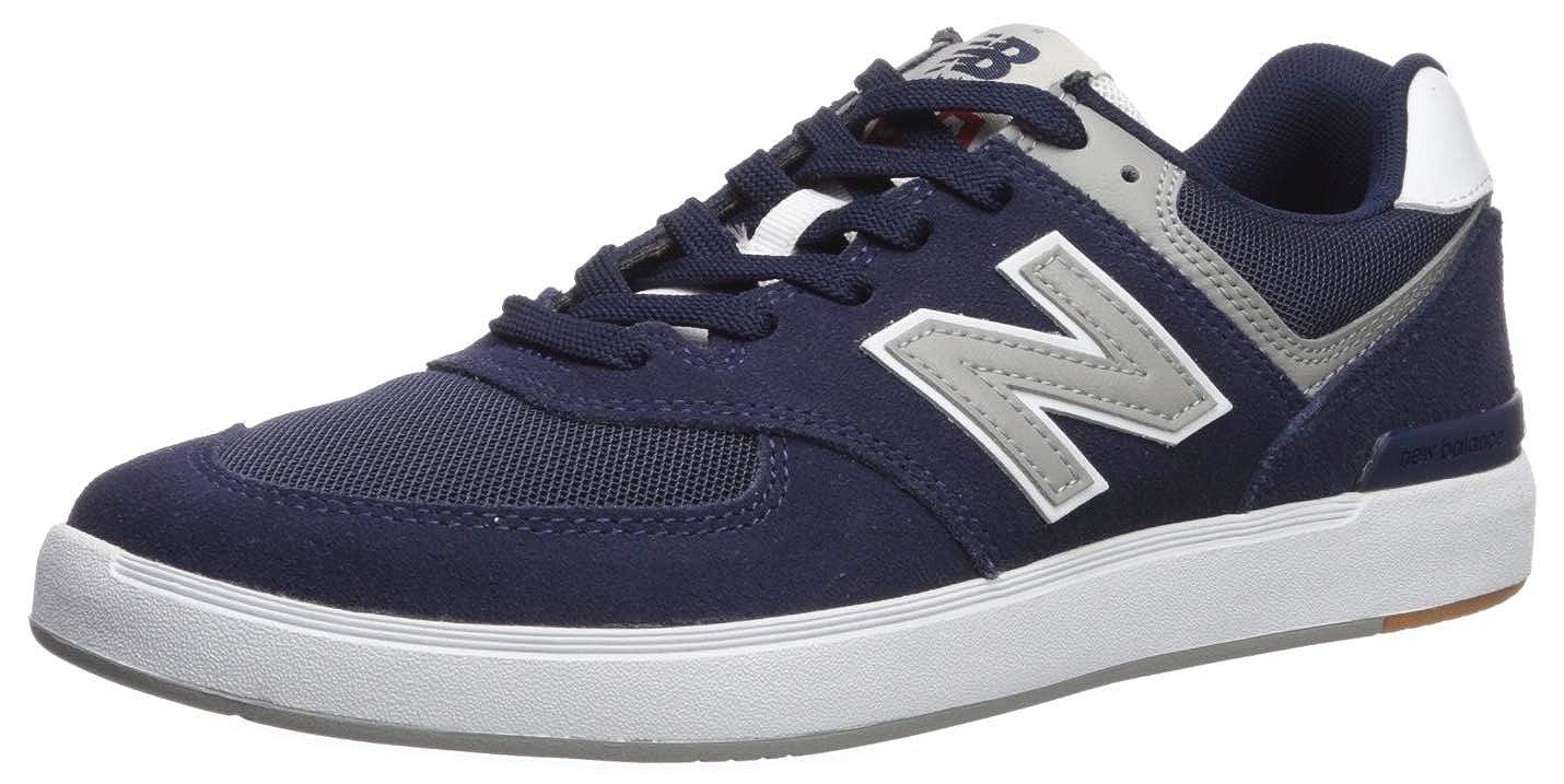 Noir Blanc New Balance AM 574 NYR Navy Baskets pour Hommes 37 EU