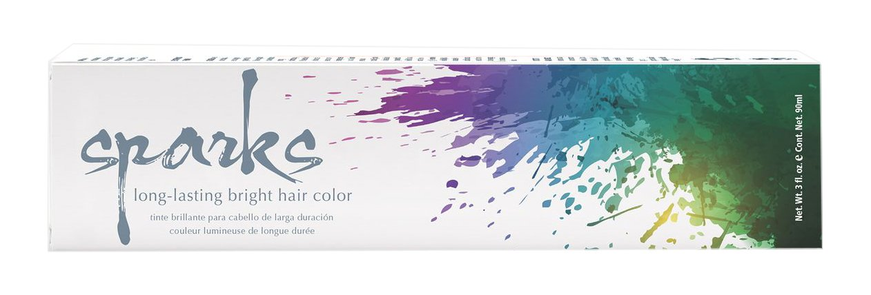 Sparks Long Lasting Bright Hair Color Wild Flamingo 3 Ounce 4