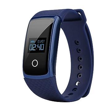VBESTLIFE Inteligente Reloj Pulsera de Movimiento , Oxímetro de Presión Rrterial ,Monitor de Ritmo Cardíaco
