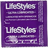 Lifestyles Ultra Lubricated with Spermicide Premium Latex Condoms, 36 Count