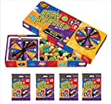 Jelly Belly 3.5 oz BeanBoozled Spinner Wheel Game Jelly Bean Gift Box with 4 - 1.9 oz BeanBoozled Jelly Bean Refills (Party Pack)