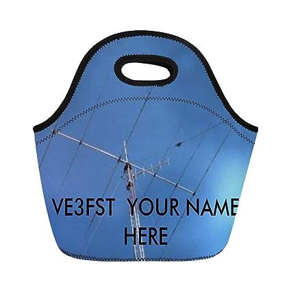 11b219e1cd Amazon.com: Ablitt Lunch Bags Ham Amateur Radio Operators Custom ...