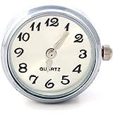 Morella Unisex Click-Button Uhr weiß