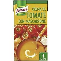 Knorr Crema De Tomate Con Mascarpone - 1000 ml. Pack de 8: Total de 8L