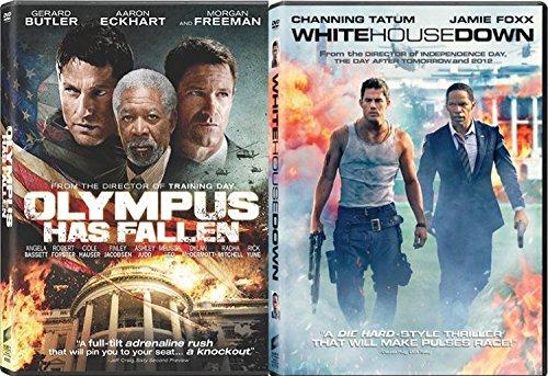 White House Down + Olympus Has Fallen Action Bundle DVD Movie 2 Film Set