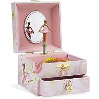 JewelKeeper Square Musical Jewelry Box