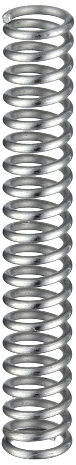 Compression Spring Stainless Steel Metric 2.9 mm OD 0.4 mm Wire Size 7.49 mm Compressed Length 13 mm Free Length 5.96 N Load Capacity 1.11 N mm Spring Rate Pack of 10
