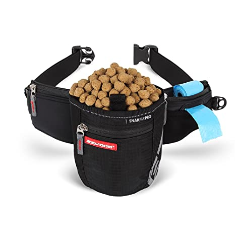 Amazon.com: EzyDog snakpak Pro Wearable bolsa para comida de ...