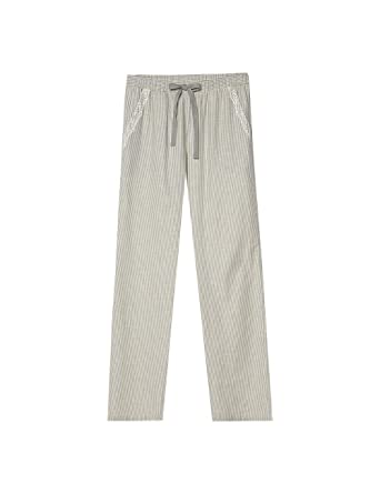 7ecfee5eb90f Intimissimi Womens Long Striped Flannel Trousers: Amazon.co.uk: Clothing